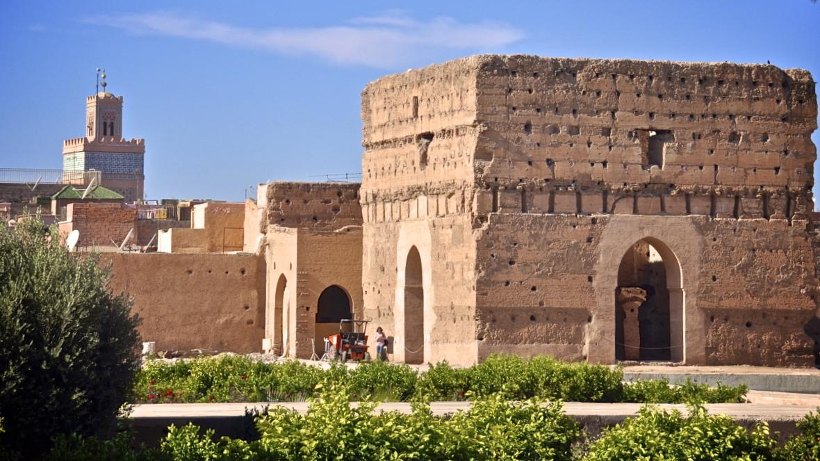 palais el badi marrakech - pavillon des audiences