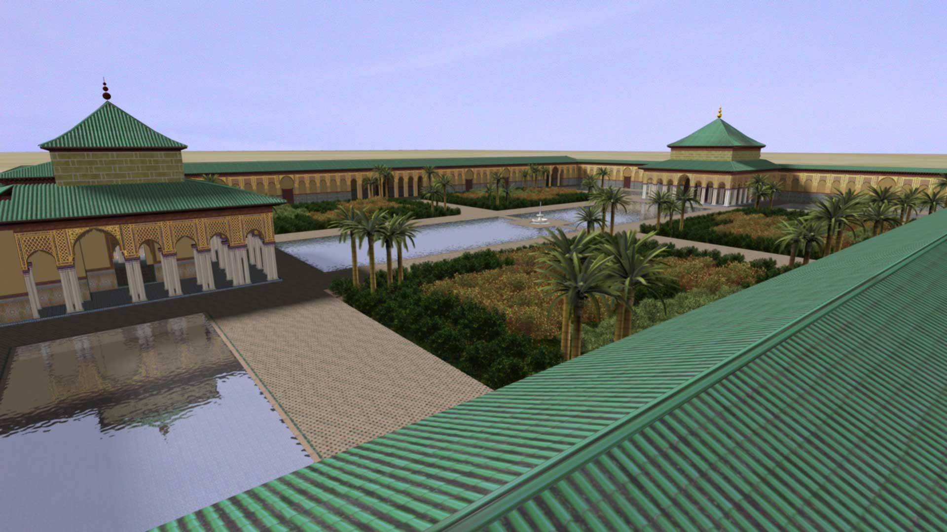 virtual palais el badi ©Antonio Almagro LAAC, Escuela de Estudios Árabes, CSIC. Granada
