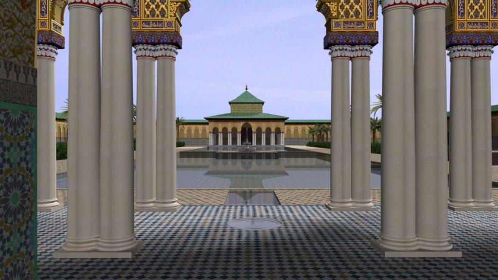 virtual palais el badi 5 ©Antonio Almagro LAAC, Escuela de Estudios Árabes, CSIC. Granada