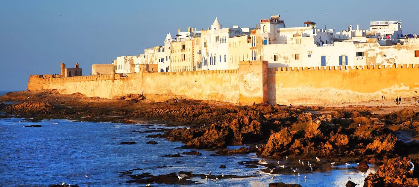 Essaouira remparts et la Sqala de la Kasbah