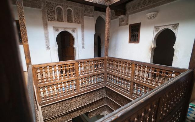 Medersa Ben Youssef Islamic school, Marrakech Medina Morocco,