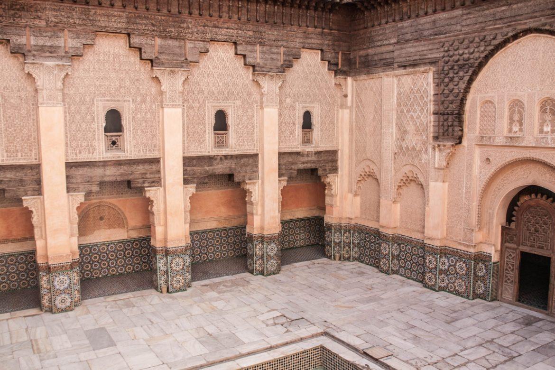 marrakech medersa Ben Youssef maroc