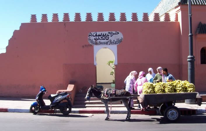 youssef ben tachfine mausolee marrakech