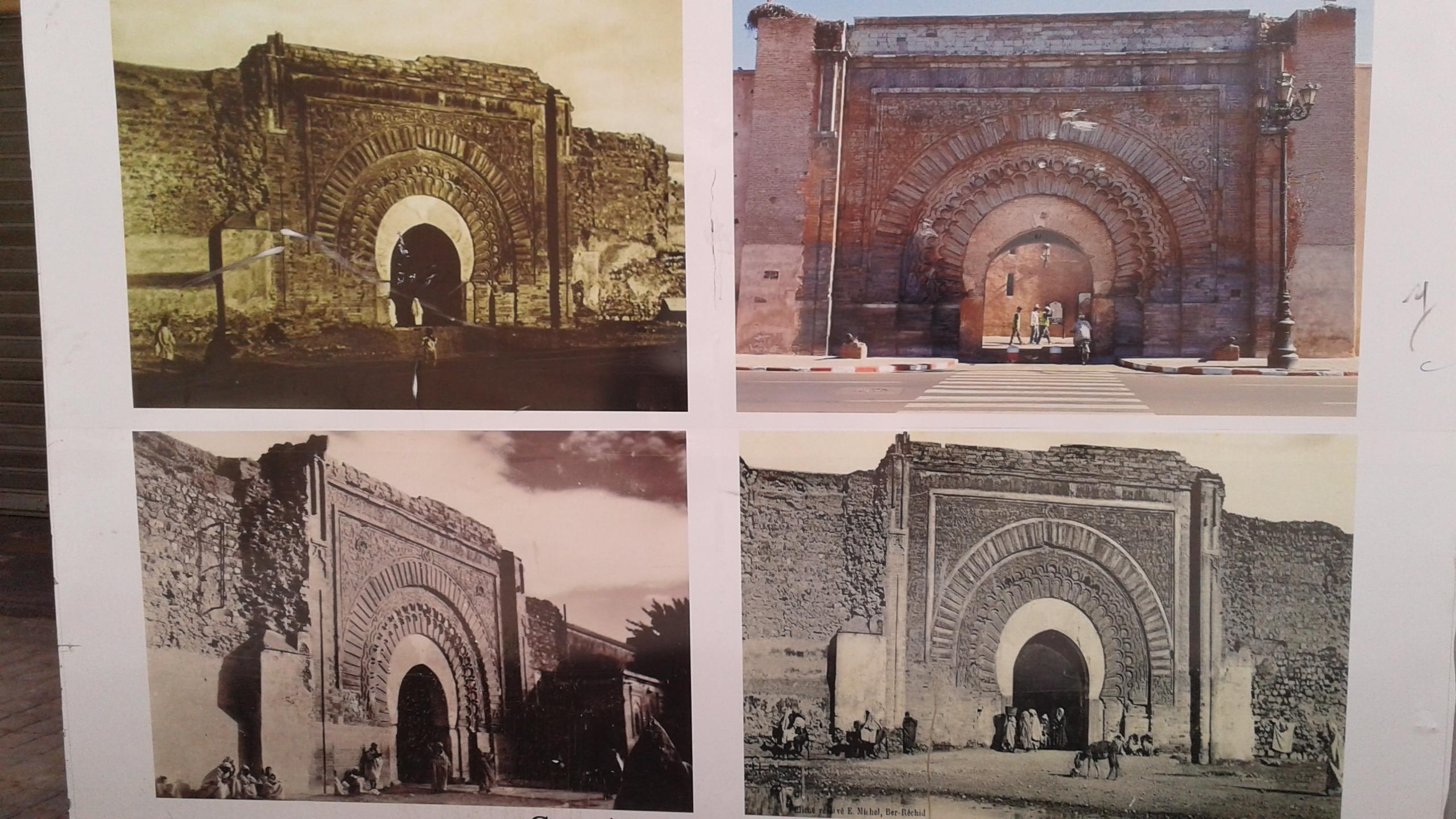 Bab Agnaou Marrakech -Travaux de Renovation works 2020
