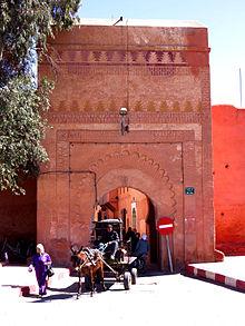 Bab Ksiba Remparts Kasbah Marrakech