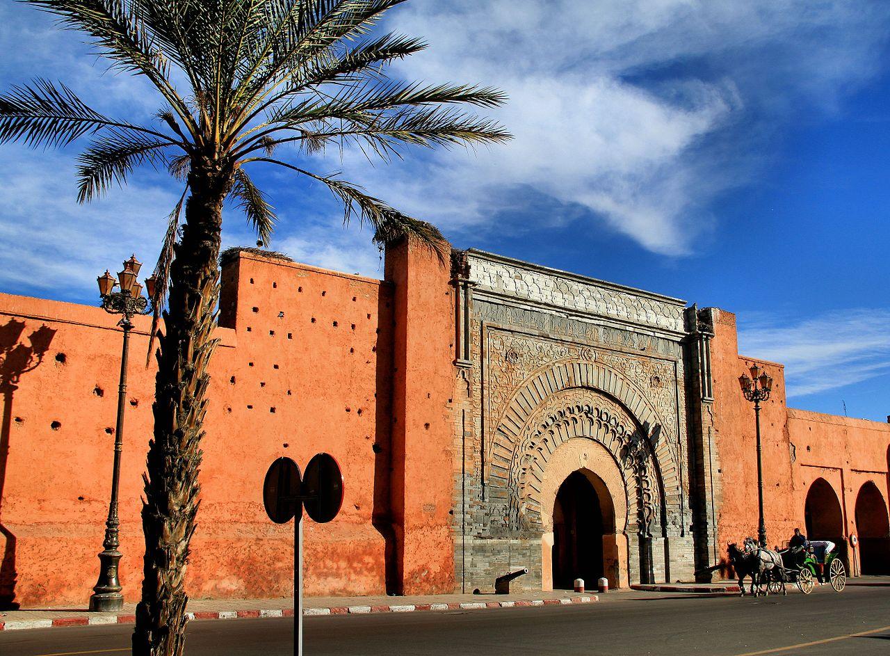 Marrakech Porte Bab Agnaou Medina Kasbah