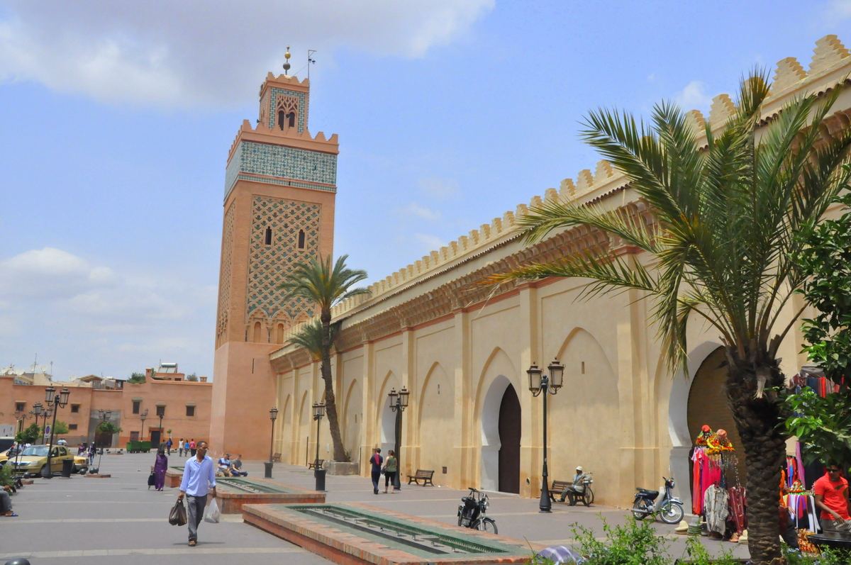 Mezquita_Mulay_Al_Yazid_Kasbah Marrakech - source wikipedia