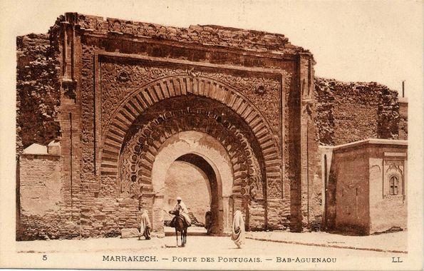 bab agnaou - carte postale ancienne © Mangin@Marrakech