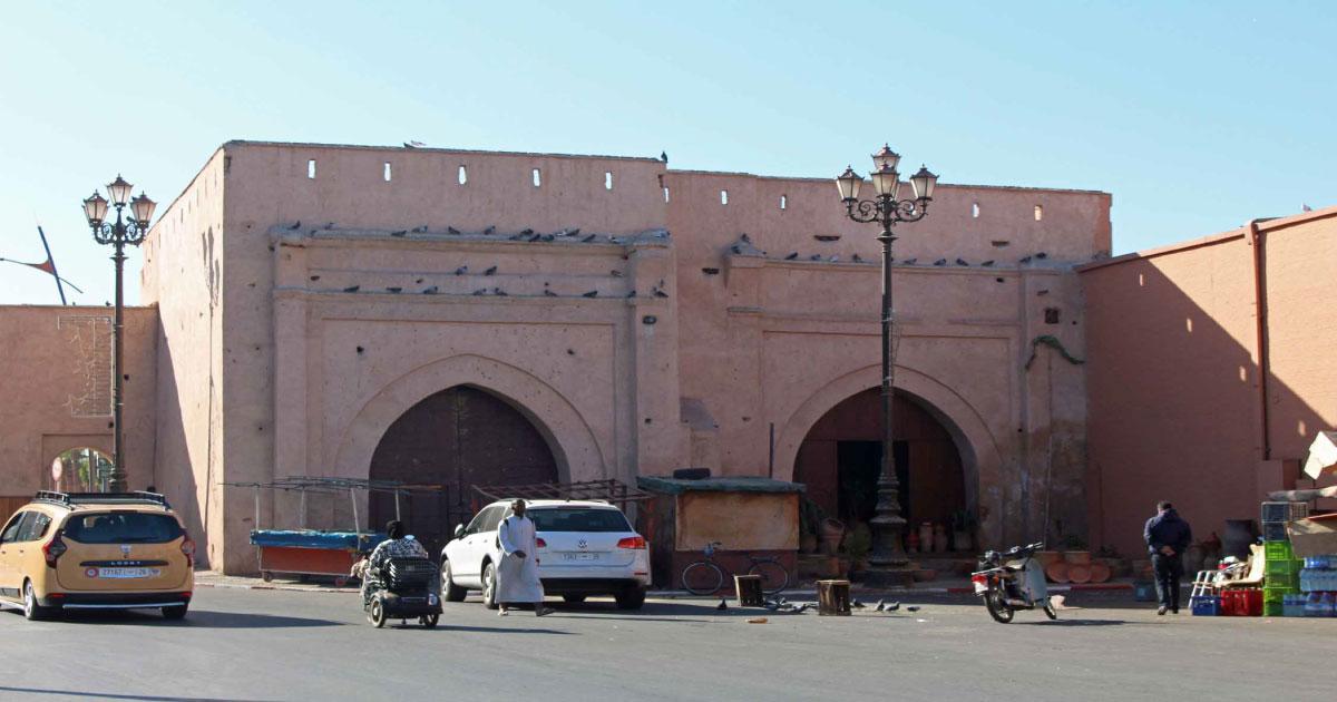 bab er robb medina marrakech