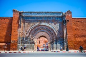 bab agnaou marrakech medina kasbah