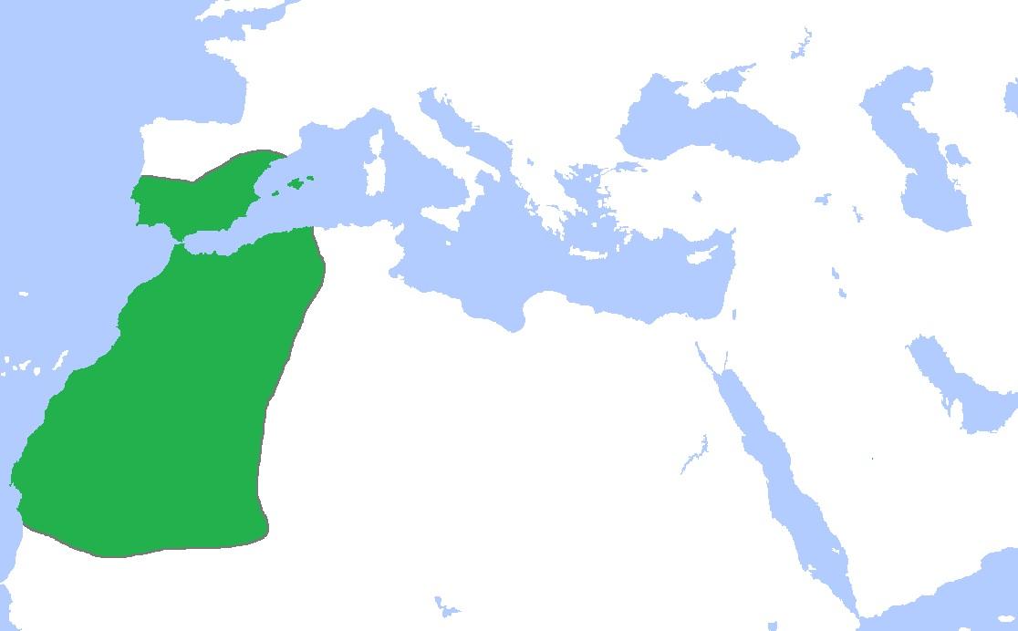 Almoravids Berbere Dynasty - 1120