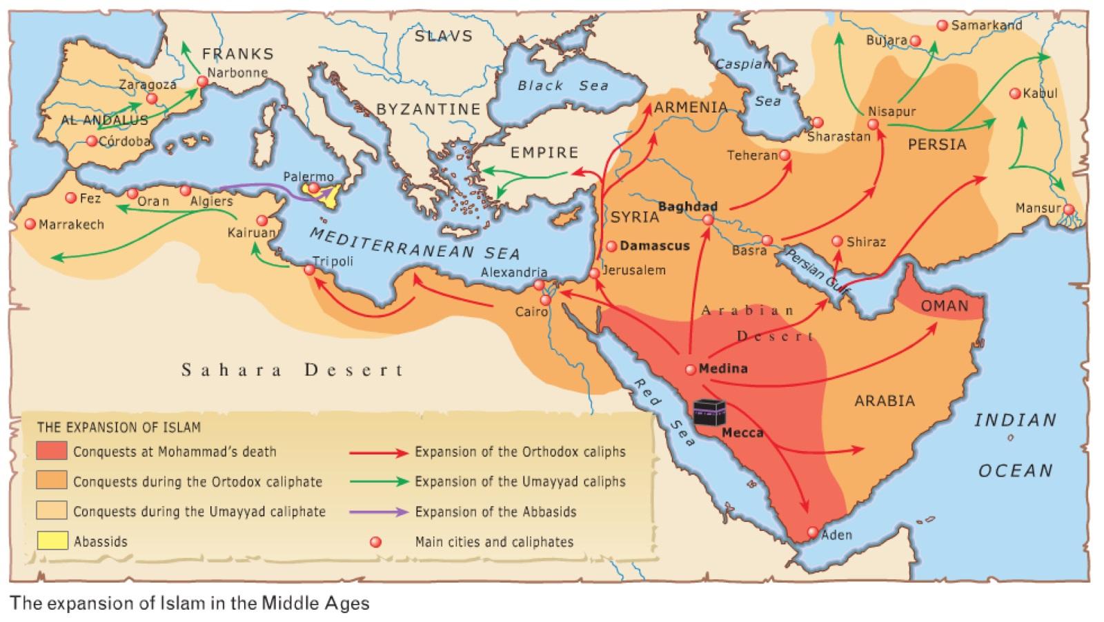 Islam conquete Maurétanie, Al Andalus
