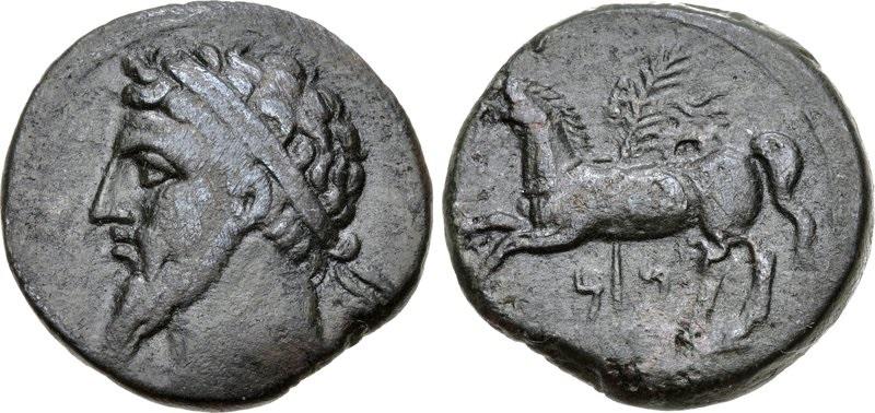 MASSINISSA Roi Numidie - silver coin - piece argent
