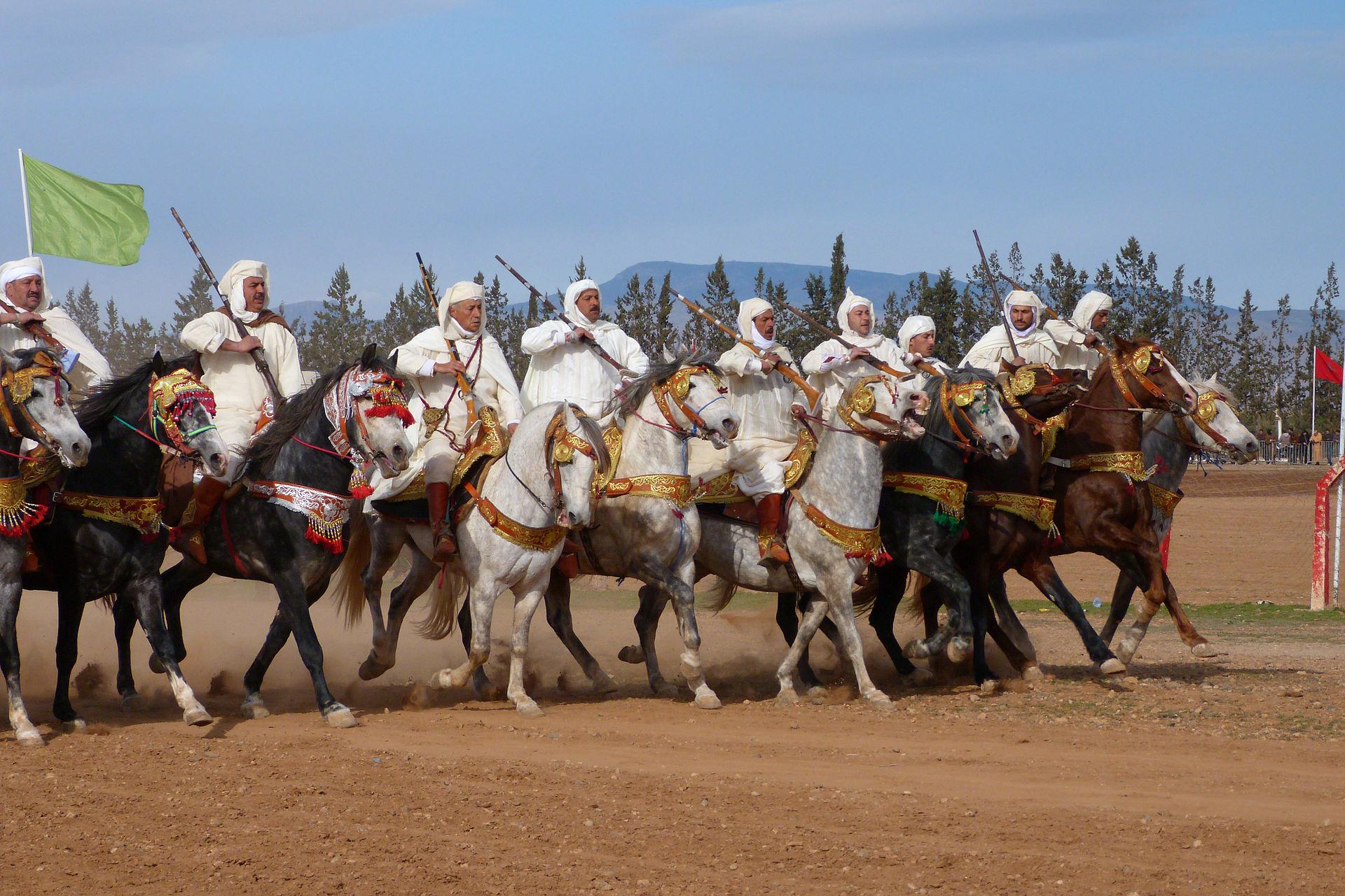 Oujda fantasia Berbères au Maroc