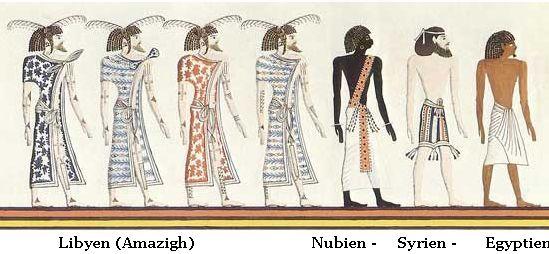 Temple Pharaon d Egypte Seti 1er - Libyens Amazigh