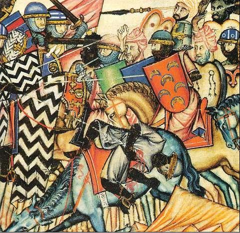 manuscrit Cantigas_bataille de la reconquista