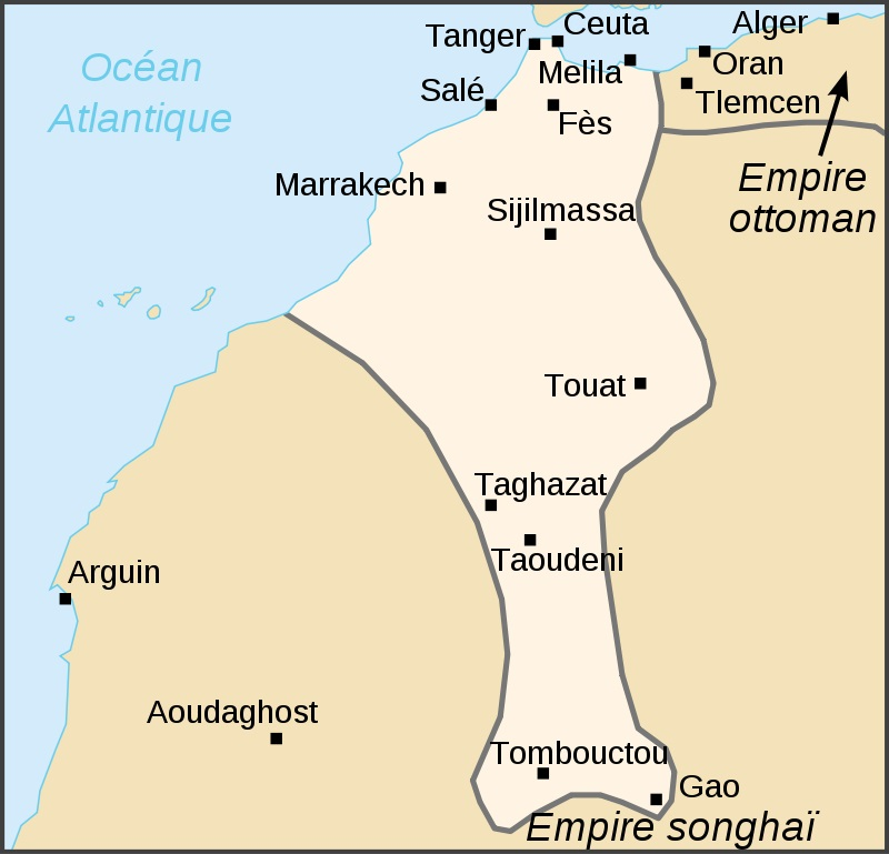 Conquêtes des Saadiens - Empire Saadien Royaume de Marrakech