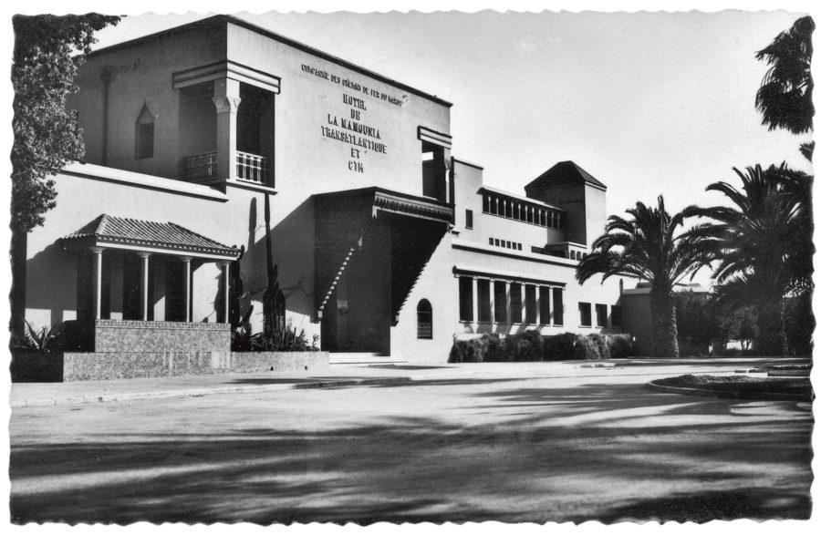 La Mamounia Marrakech ancienne photo