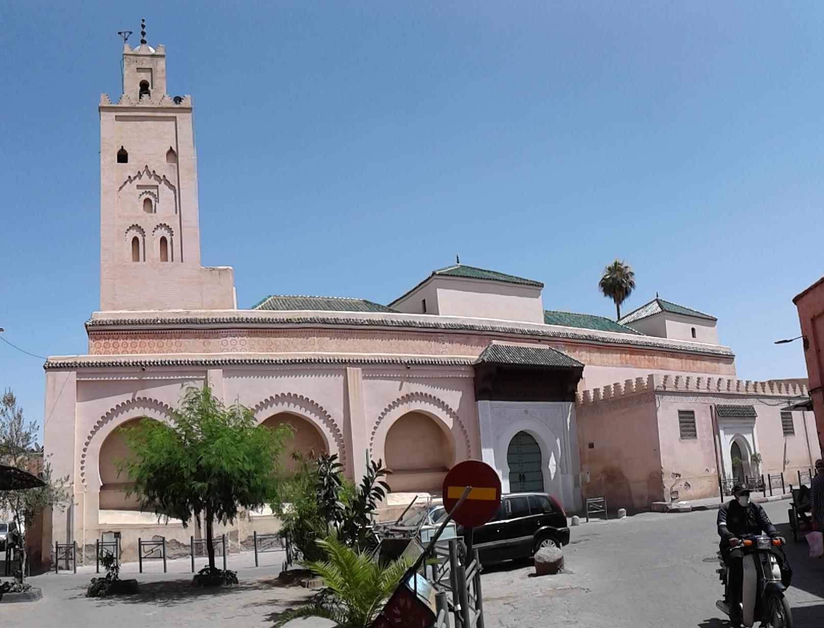 mosquee Saadienne bab doukkala marrakech