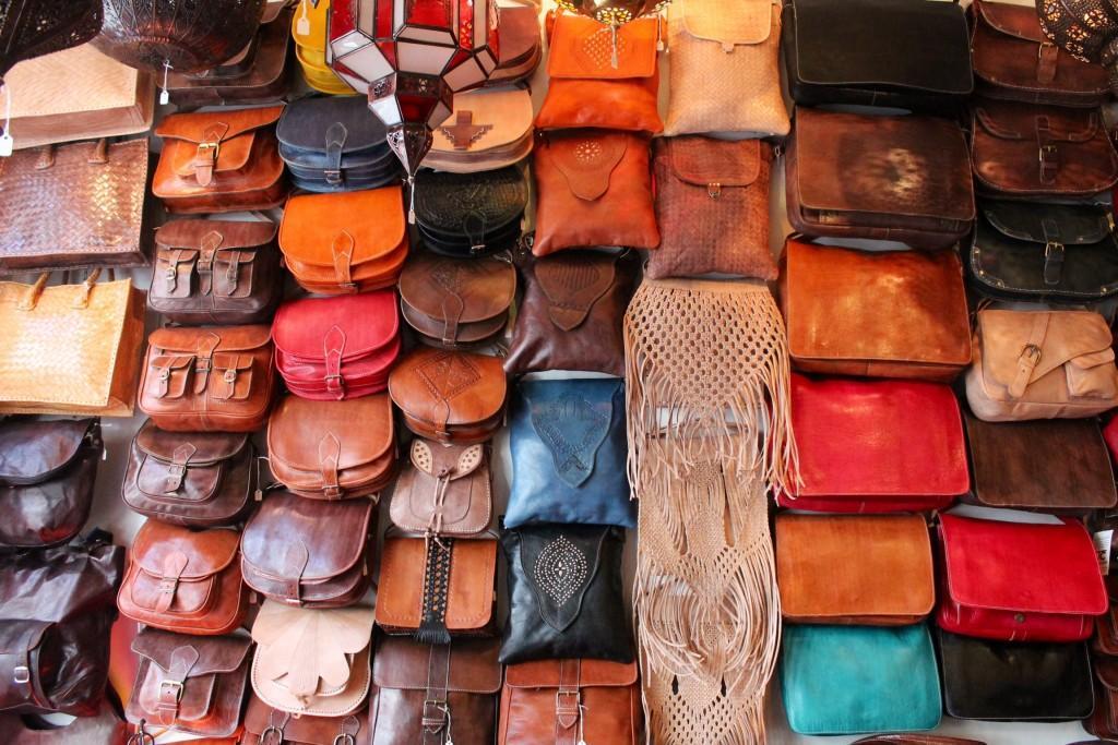 cuir souk marrakech - Négocier aux Souks à Marrakech