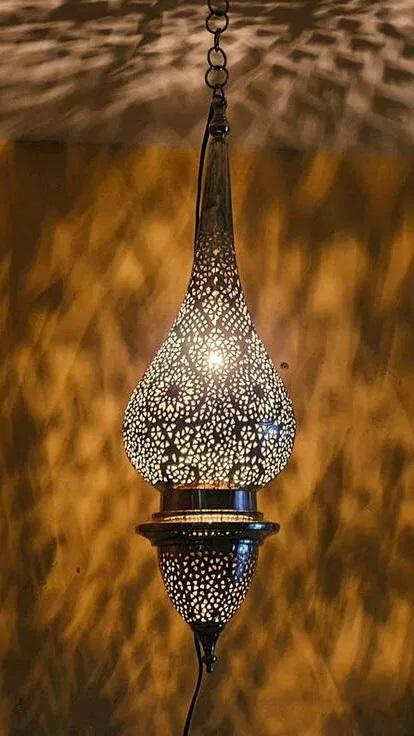 lanterne marocaine cuivre - souks