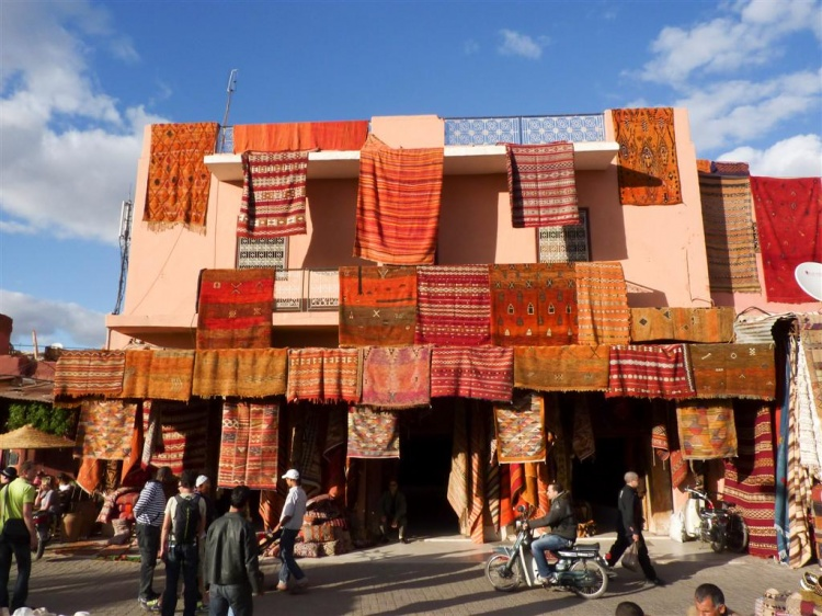 tapis souk marrakech