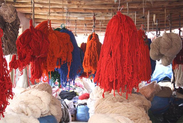 teinturiers souk Marrakech