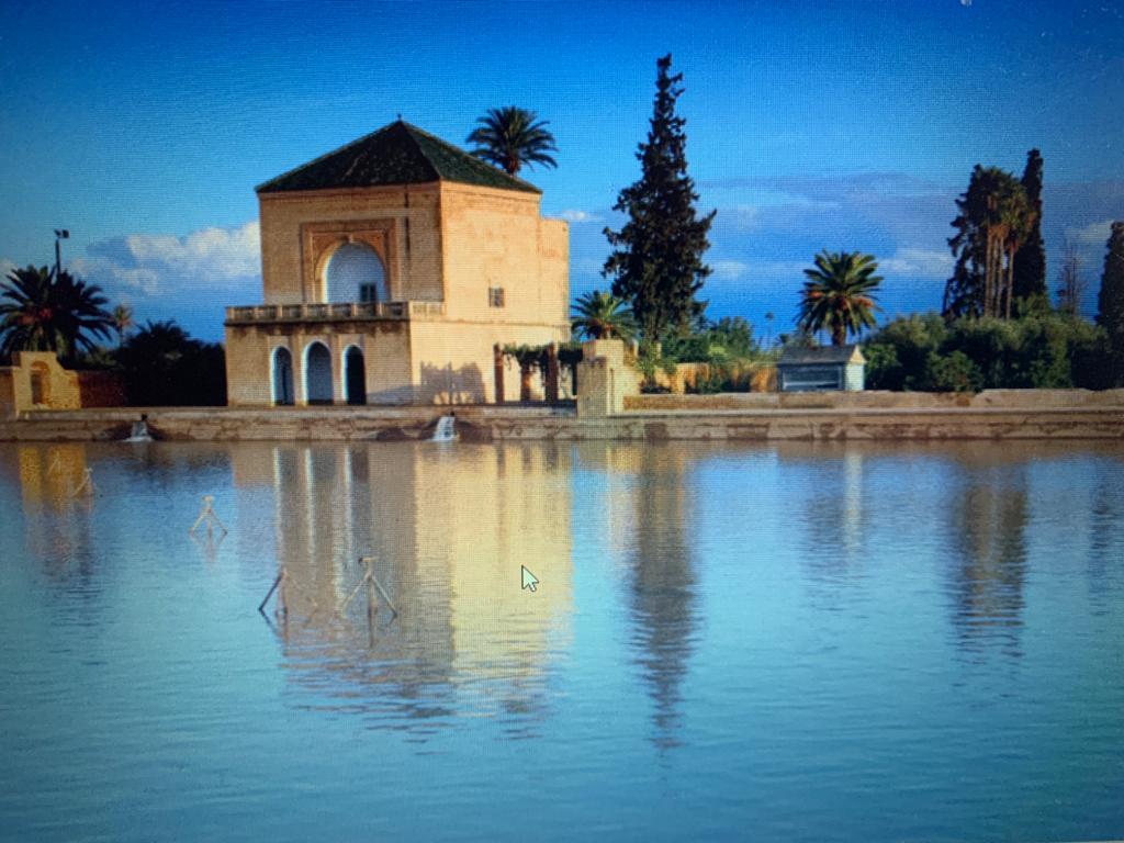 Jardin de la Ménara - Bassin et Pavillon