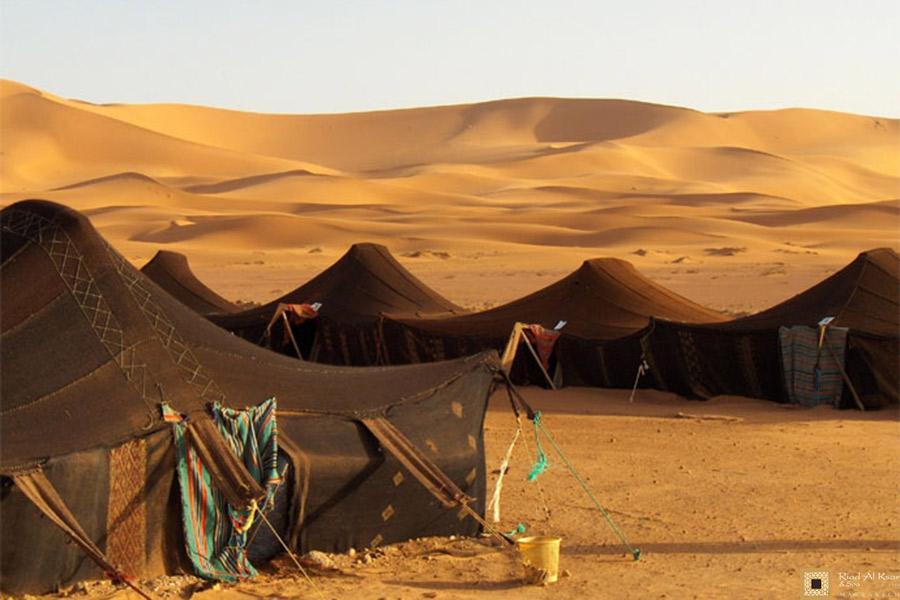 Bivouac Erg Chebbi Maroc Sahara
