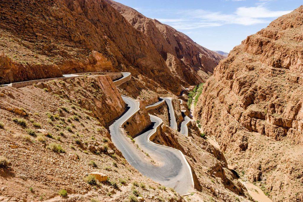 Gorge de Dades Maroc - de Marrakech a Merzouga