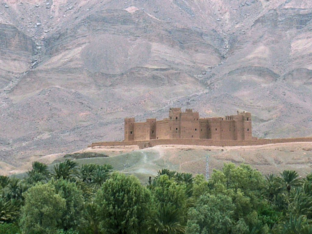 Kasbah de Tamnougalt Agdz Maroc