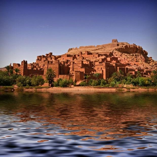 Ksar Kasbah Ait Ben-Haddou - de Marrakech a Merzouga