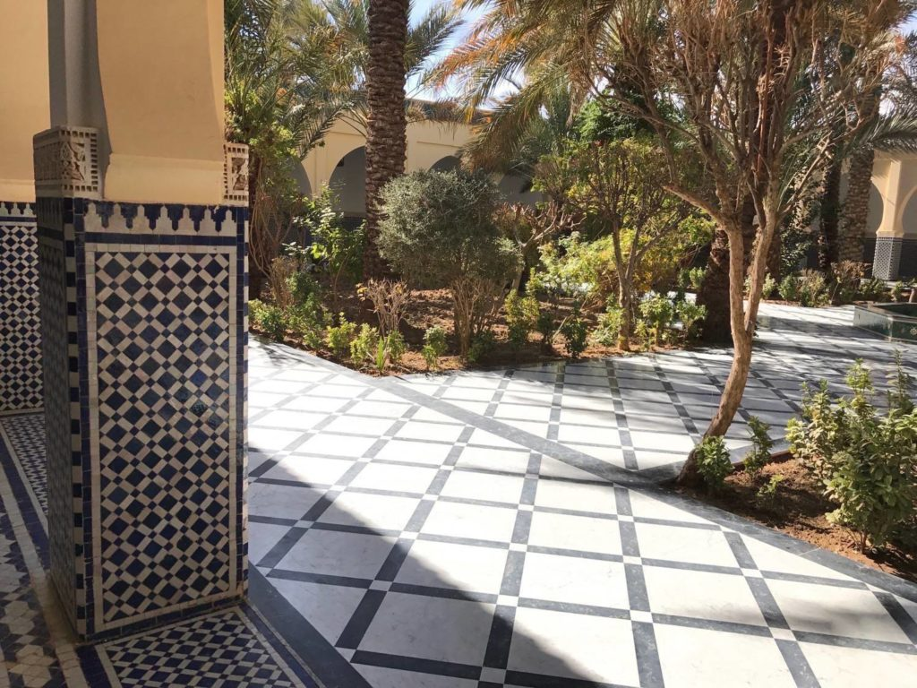 Moulay Ali Cherif Rissani Jardin du Mausolee