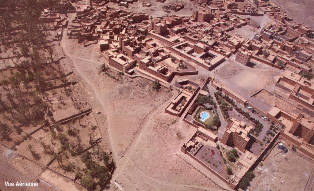 N'kob vue aérienne des Kasbahs