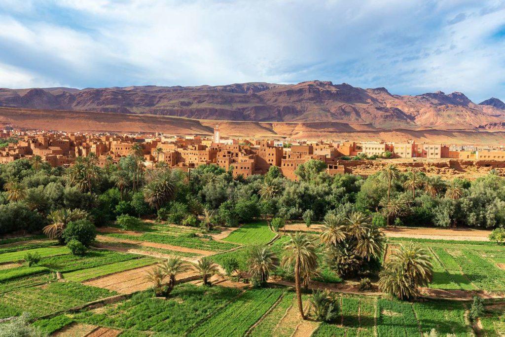 Tinghir Route de Milles Kasbahs Maroc - de Marrakech a Merzouga desert du sahara