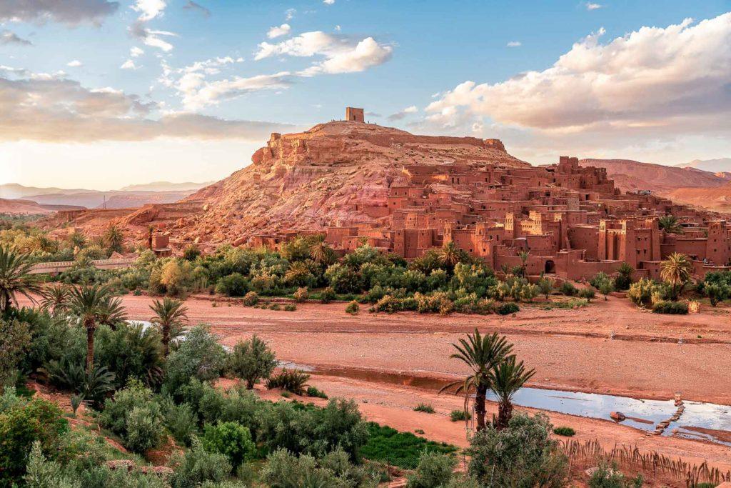 Vallee du Draa Maroc - de Marrakech a Merzouga