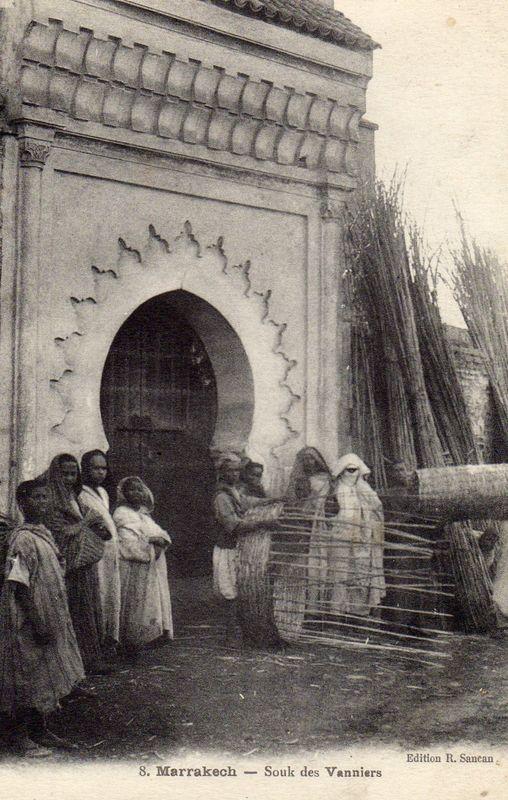 marrakech souk des vanniers