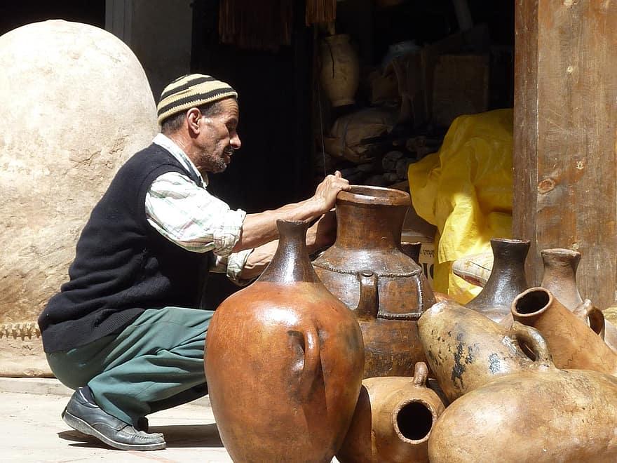 morocco-marrakech-pottery-potter